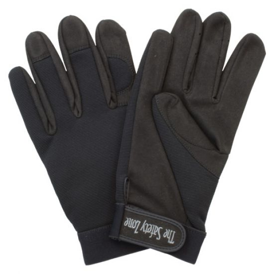 SINGLE PALM HIGH DEXTERITY GLOVE WITH STRETCH NYLON BACK